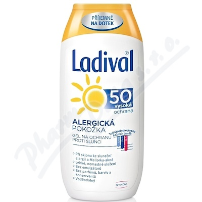 LADIVAL ALERG OF50+ GEL 200ml