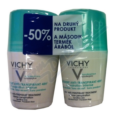 VICHY DEO roll-on DUO Intenzivní roll-on 2x50ml
