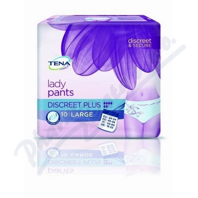 Ink.kalh.TENA Lady Pants Disc.Plus L 10ks 797610
