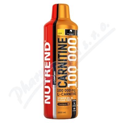 NUTREND Carnitine 100 000 citron 1000ml