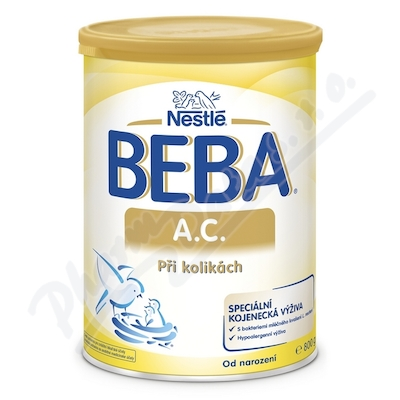 BEBA A.C.při kolikách 800g