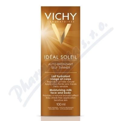 VICHY Ideál Soleil Auto bronzant mléko 100ml