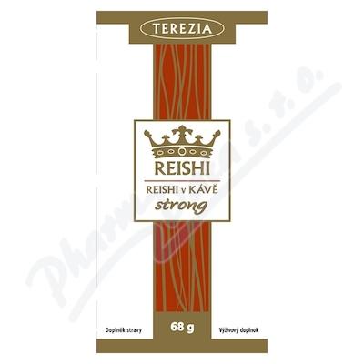 TEREZIA Reishi v kávě strong 20 sáčků á 3.4g