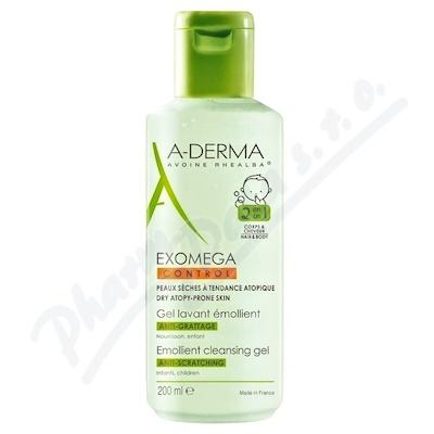 A-DERMA Exomega CONTROL Zvláč.mycí gel 2v1 200ml
