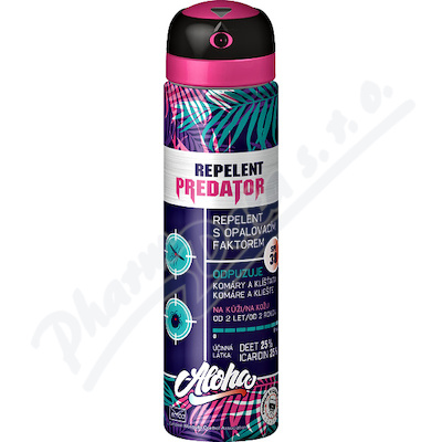 Repelent PREDATOR ALOHA opal.faktor 30 spray 90ml