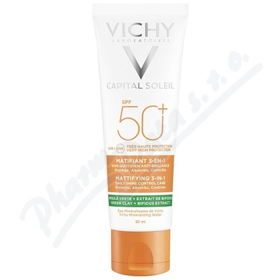 VICHY Capital Soleil Zmatňující krém SPF50 50ml