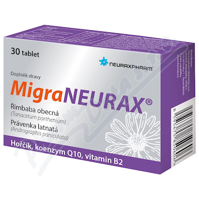 MigraNEURAX 30 tabliet