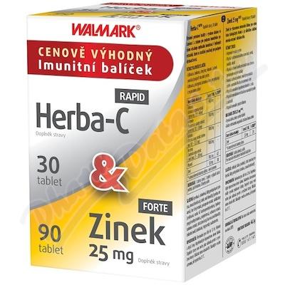 Walmark Herba-C tbl.30&Zinek 25mg tbl.90 Promo2020