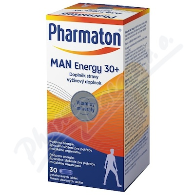 Pharmaton MAN Energy 30+, 30 kapsúl
