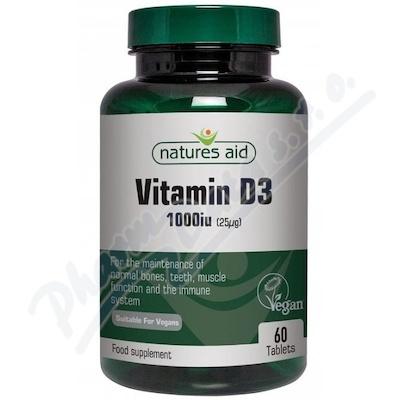 Vitamín D3 1000iu (Vegan) tbl.60