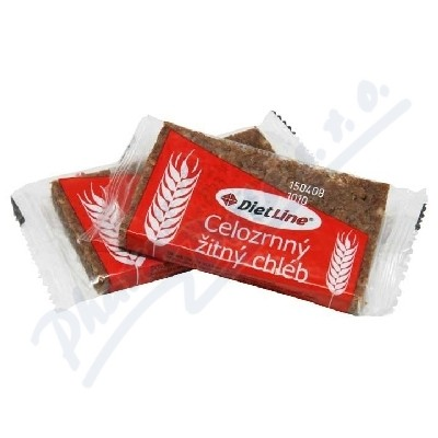 DietLine Celozrnný žitný chléb 2ks/40g
