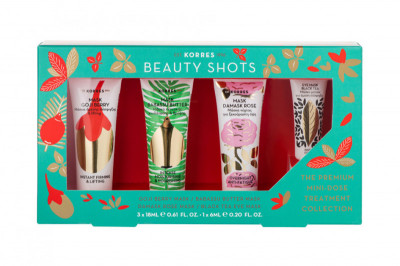 KORRES BEAUTY SHOTS Mini Collection dárková sada Beauty Shots masek, 4 ks