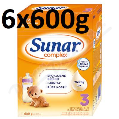 Sunar Complex 3 6 x 600 g