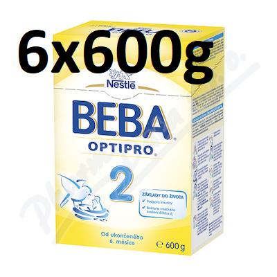 BEBA OptiPro 2 6 x 600 g