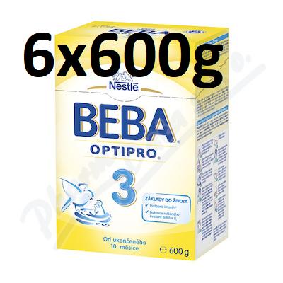 BEBA OptiPro 3 6 x 600 g