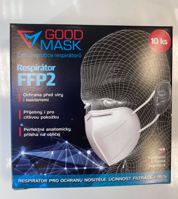 GOOD MASK FFP2 P1473 10 KS
