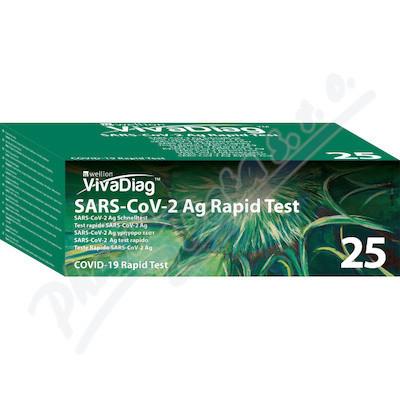 ViVaDiag SARS-CoV-2 Ag Rapid Test  25ks