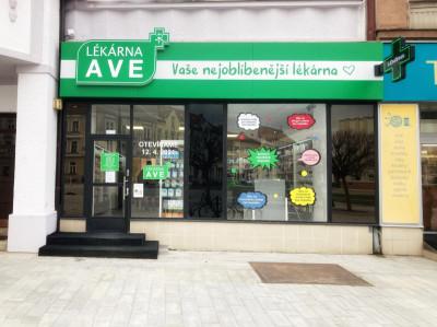 Osobný odber - Hradec Králové - Lékárna AVE