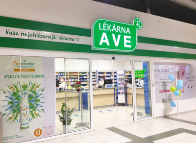 Osobný odber - Havlíčkův  Brod - Lékárna AVE