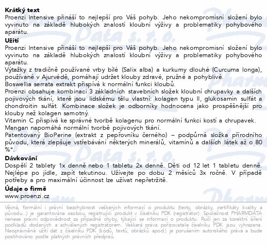 Walmark Proenzi Intensive tbl.120+60 Promo 2020