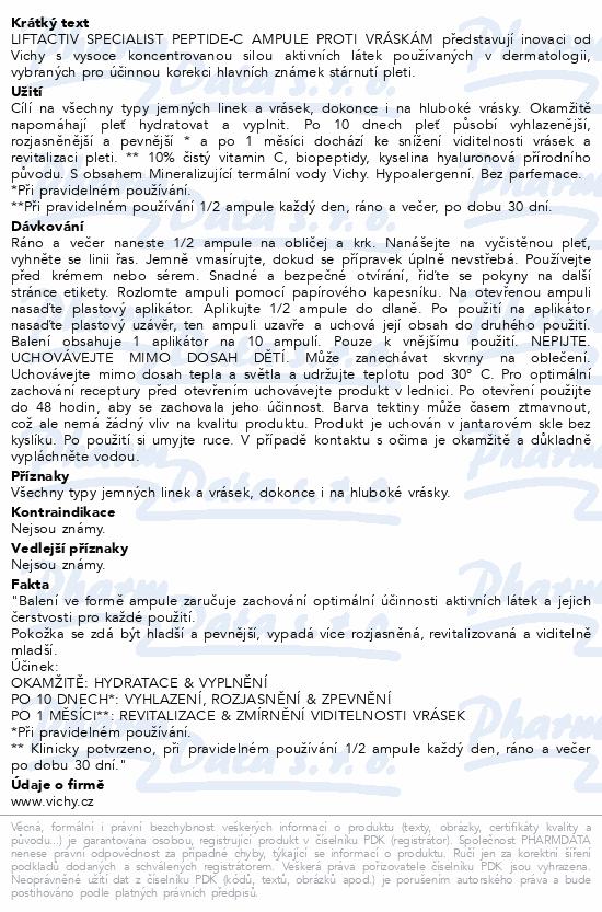 VICHY LIFTACTIV SPECIALIST PeptideC ampule30x1.8ml